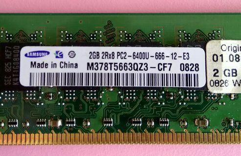 DDR2 800 RAM 2GB