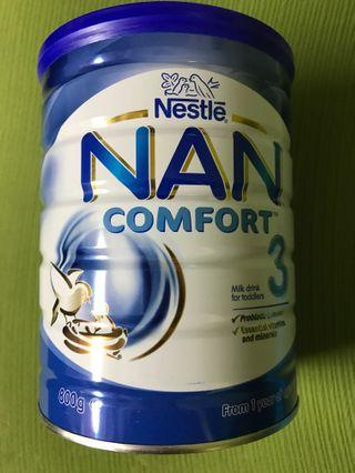 From Australia - NAN Comfort 3 Toddler