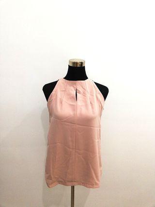 Whitesoot Rose pink chic sleeveless top #OYOHOTEL