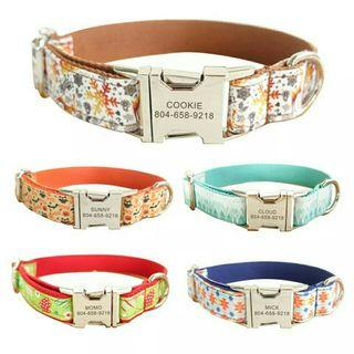 [Pre-Order] Personalized Dog Collars
