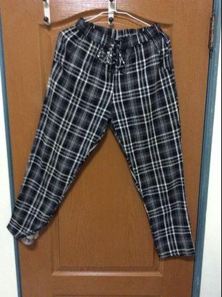 🚚 英倫風寬褲