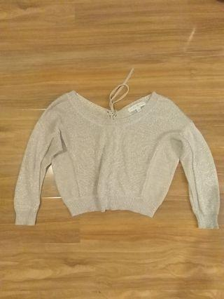 💕Forever New Size 6 Jumper Pearl/gold