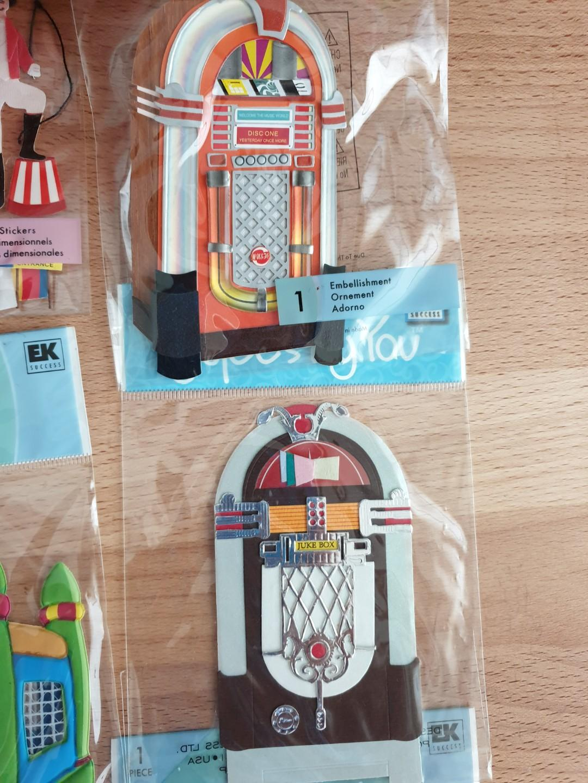 15 Circus Fair 3D Jolees Embellishments Stickers Scrapbooking Card