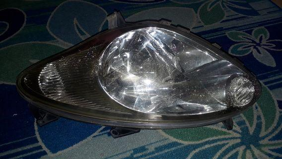 Headlamp old myvi