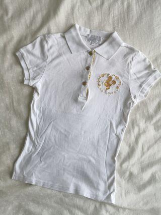 Mickey Mouse White Polo Shirt