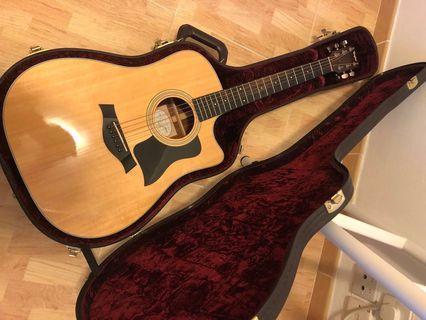 Taylor 310CE- Acoustic Guitar - 80%new