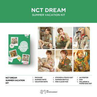 NCT Dream Summer Vacation kit loose items
