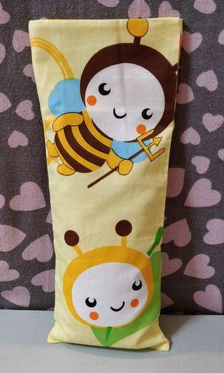 🌸Aqua Bee Design Beanspout Husk Pillow