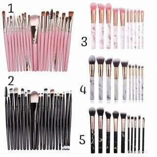 🌟INSTOCK FAST DELIVERY🌟 10 Pc Marble Makeup Brush Set 20 Pc Professional Make Up Brush