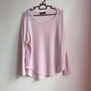 Knit Pink Top