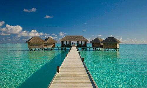 SQ ticket to Maldives