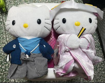 Hello Kitty 日本結婚公仔