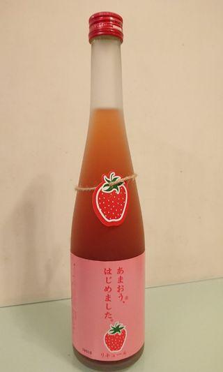 日本草莓梅酒
