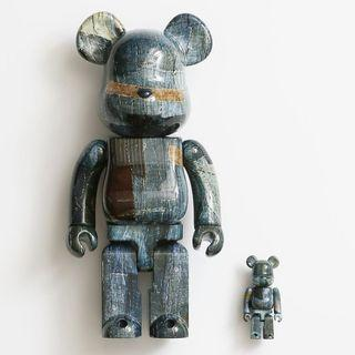 Brand New Original FDMTL bearbrick 400% + 100%