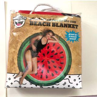 BIGMOUTH 西瓜沙灘巾