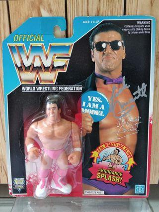 Hasbro WWF figures - Signed Autographed The Model Rick Martel