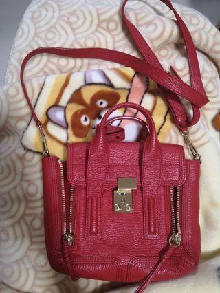 Red Mini Pashli Satchel