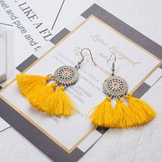 Bohemian Retro Tassel Earrings