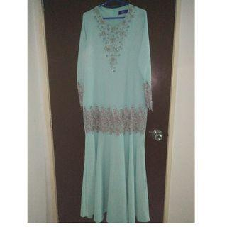 Preloved Dress Tunang Size 38