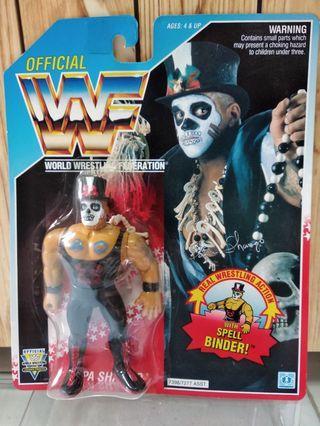 Hasbro WWF figures - Papa Shango