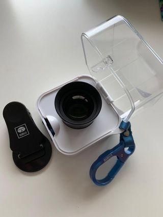 🚚 Sirui 60mm phone lens for taking portraits