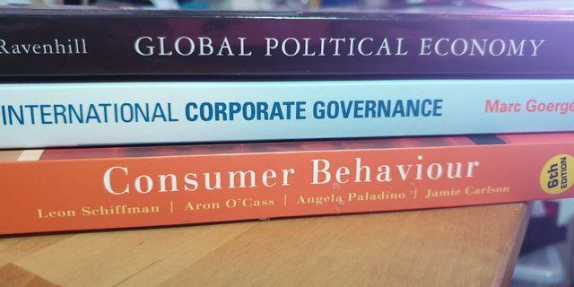 🚚 Murdoch University Textbooks (Business Degree)