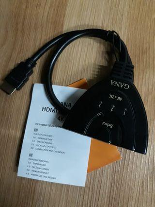🚚 Gana HDMI Switch 4K