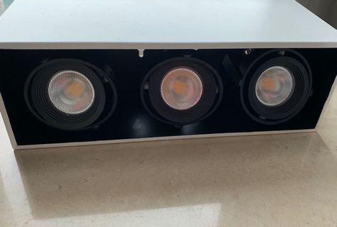 3頭 天花盒射燈(Box Light)