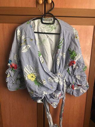 Zalia Floral Kimono Top