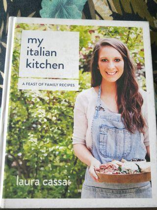 🚚 My Italian Kitchen A Feast of Family Recipes by Laura Cassi #EndgameYourExcess #MRTBedok