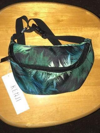 Fern print bum bag