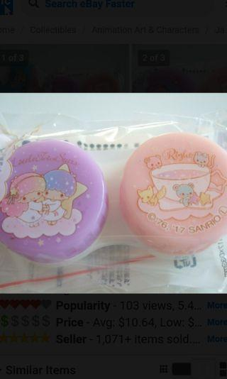 Little Twin Stars contact lens holder/case