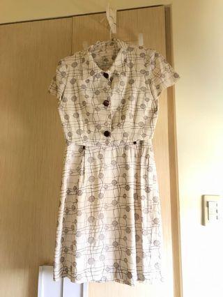 🚚 有歷史!復古洋裝套裝!