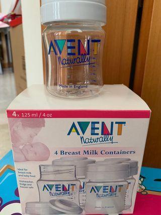 🚚 Breast milk container