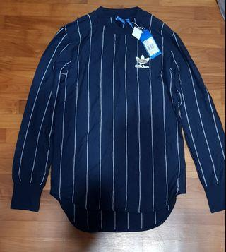 Adidas Originals long sleeve stripe tee for sale brand new not nike