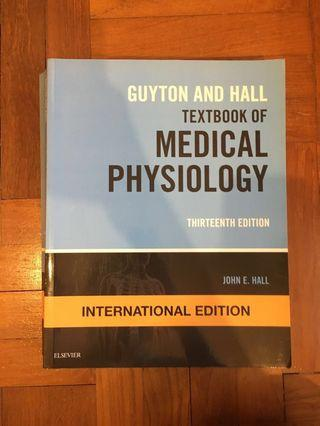 🚚 Guyton & Hall Textbook of Medical Physiology 13th Edition