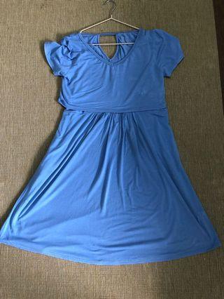 🚚 Spring Maternity & Nursing Dress
