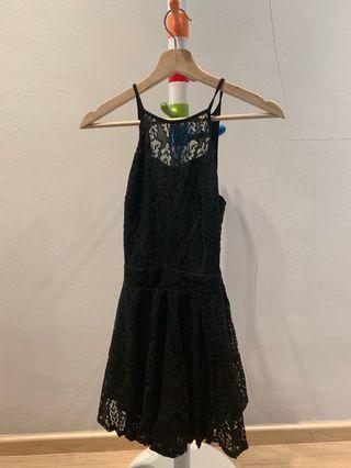🚚 Black lace play suit