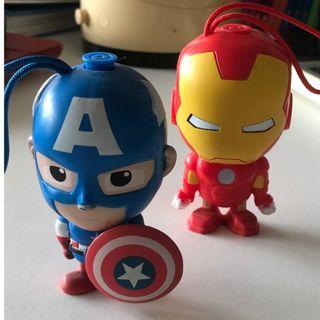 (Avengers Endgame) Iron Man, Captain America, Wolverine, Flash