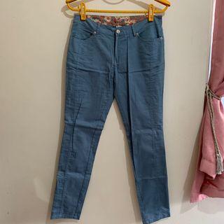 藍色長褲#半價衣服拍賣會