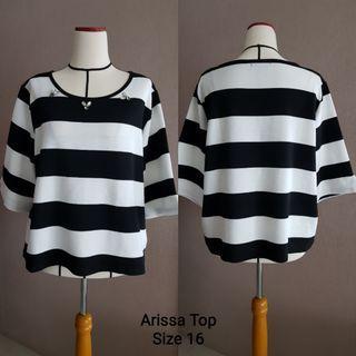 Arissa Stripy Top