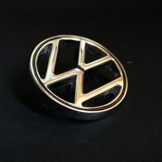 Volkswagen VW Emblem, Chrome, 48mm