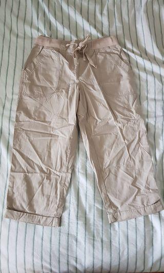 Dorothy Perkins Beige crop pants
