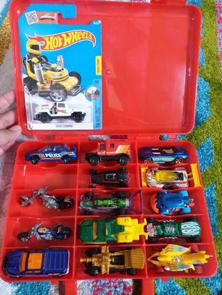 Hotwheels 15pcs loose bonus box hot wheels nya