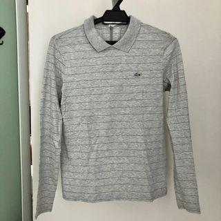 Lacoste long sleeve with collar