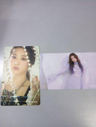 [WTS] IZ*ONE WONYOUNG KIHNO PC SET