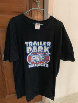 Retro Trailer Park Manager XL top