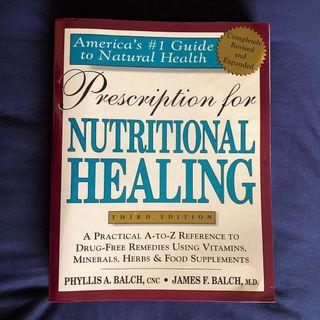 🚚 Prescription for Nutritional Healing