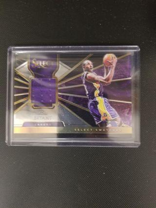 Select 2018 - 19 Kobe Bryant jersey card