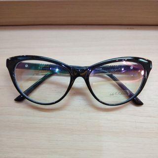 Frame cat eyes hitam ZF 6147 5416-140